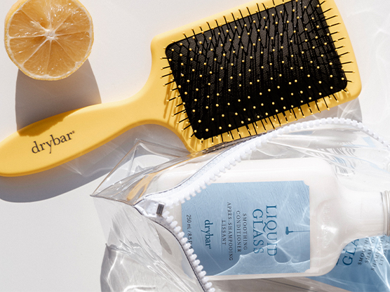 The Lemon Bar Paddle Brush
