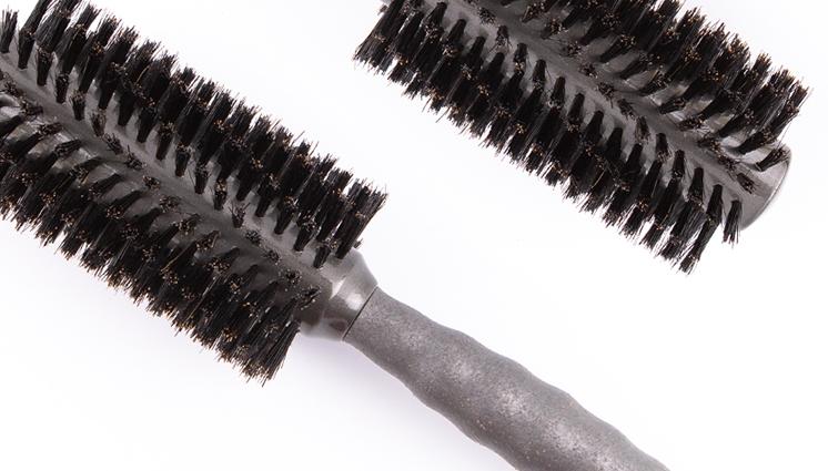 Full Keg Boar Bristle Round Brush Video