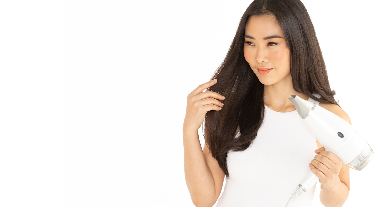 Faster Blowout, Less Frizz