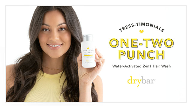 Testimonial: One-Two Punch Water-Activated 2-In-1 Hair Wash