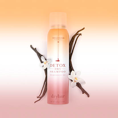 Detox Dry Shampoo Vanilla Bourbon Scent