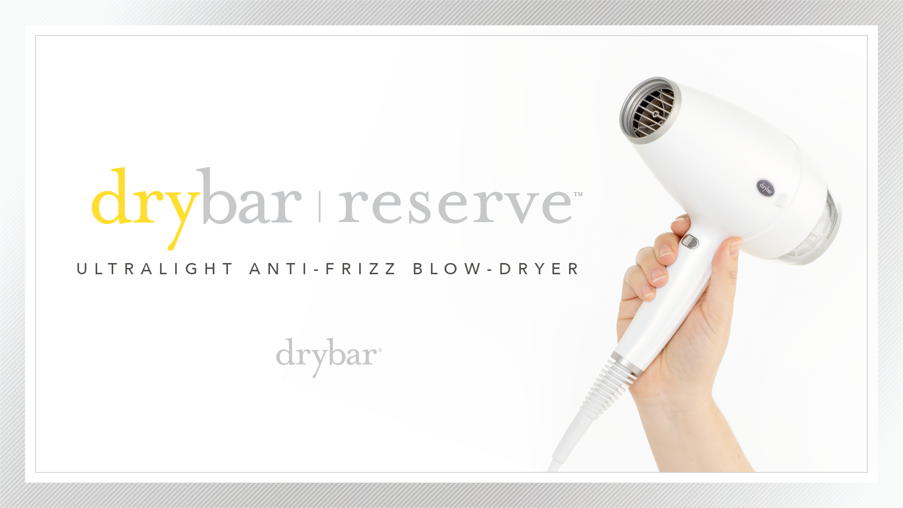 Drybar Reserve Ultralight Anti-Frizz Blow-Dryer Video