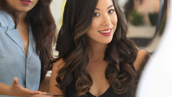 The 3-Day Bender Rotating Curling Iron Video