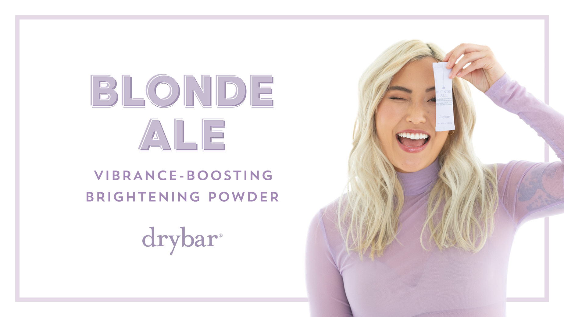 Blonde Ale Vibrance-Boosting Brightening Powder Video