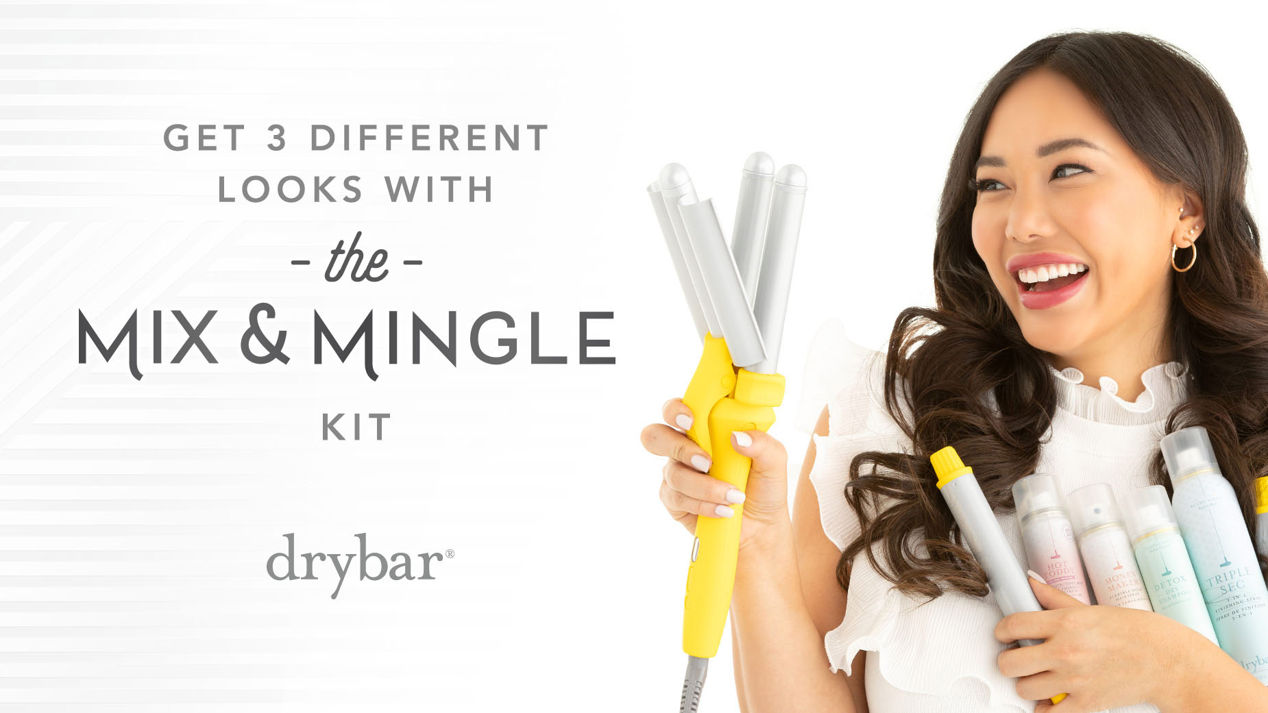 Mix & Mingle Interchangeable Styling Iron Kit Video