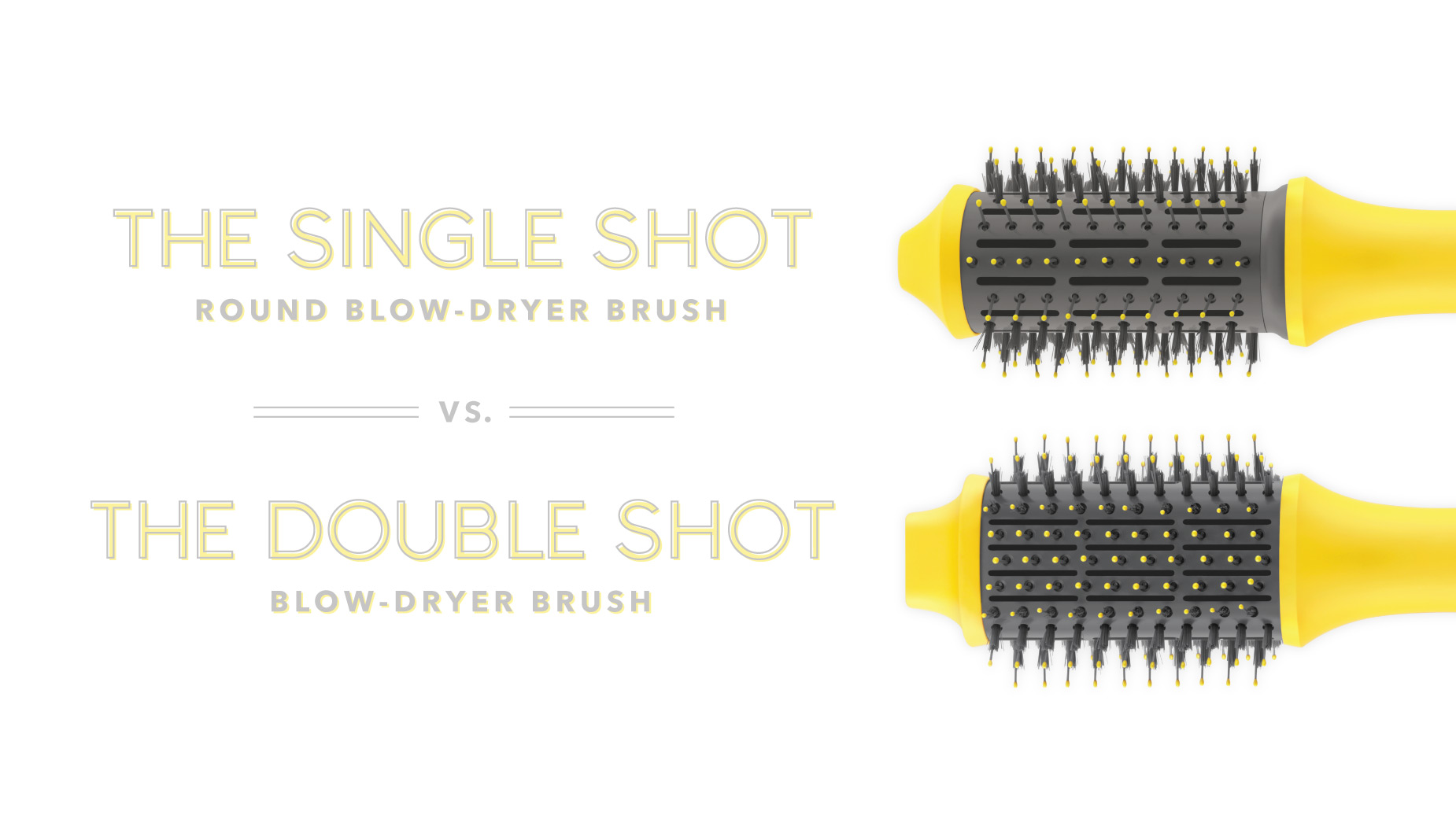 The Single Shot Vs. The Double Shot Blow-Dryer Brushes Video