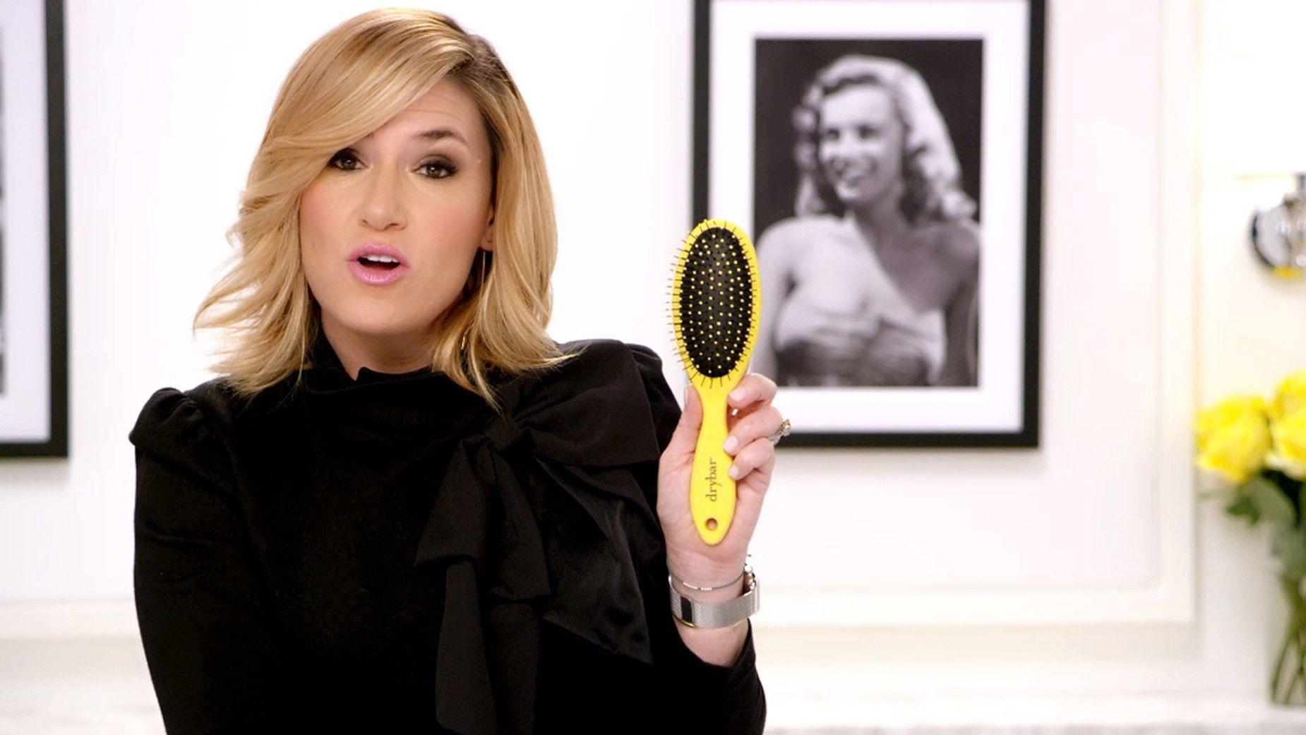 Super Lemon Drop Detangler Brush Video