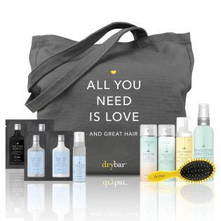 Our Drybar Essentials Tote is filled with all of your everyday faves--get it for only $45 with any purhase of $25 or more!