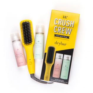$87 Retail Value! This kit features The Baby Brush Crush and other best-selling travel essentials to extend your blowout and achieve a smooth finish on the go!