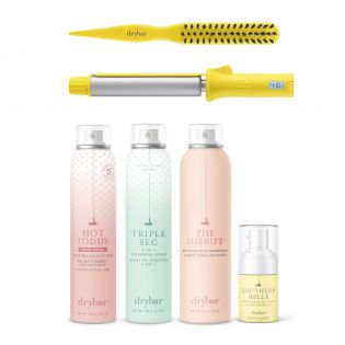 Drybar's signature updo! A $271 value - save 15% with this special value set!