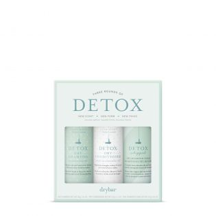 $39 Retail Value! An exclusive set designed to extend your blowout with three of our Detox formulas.