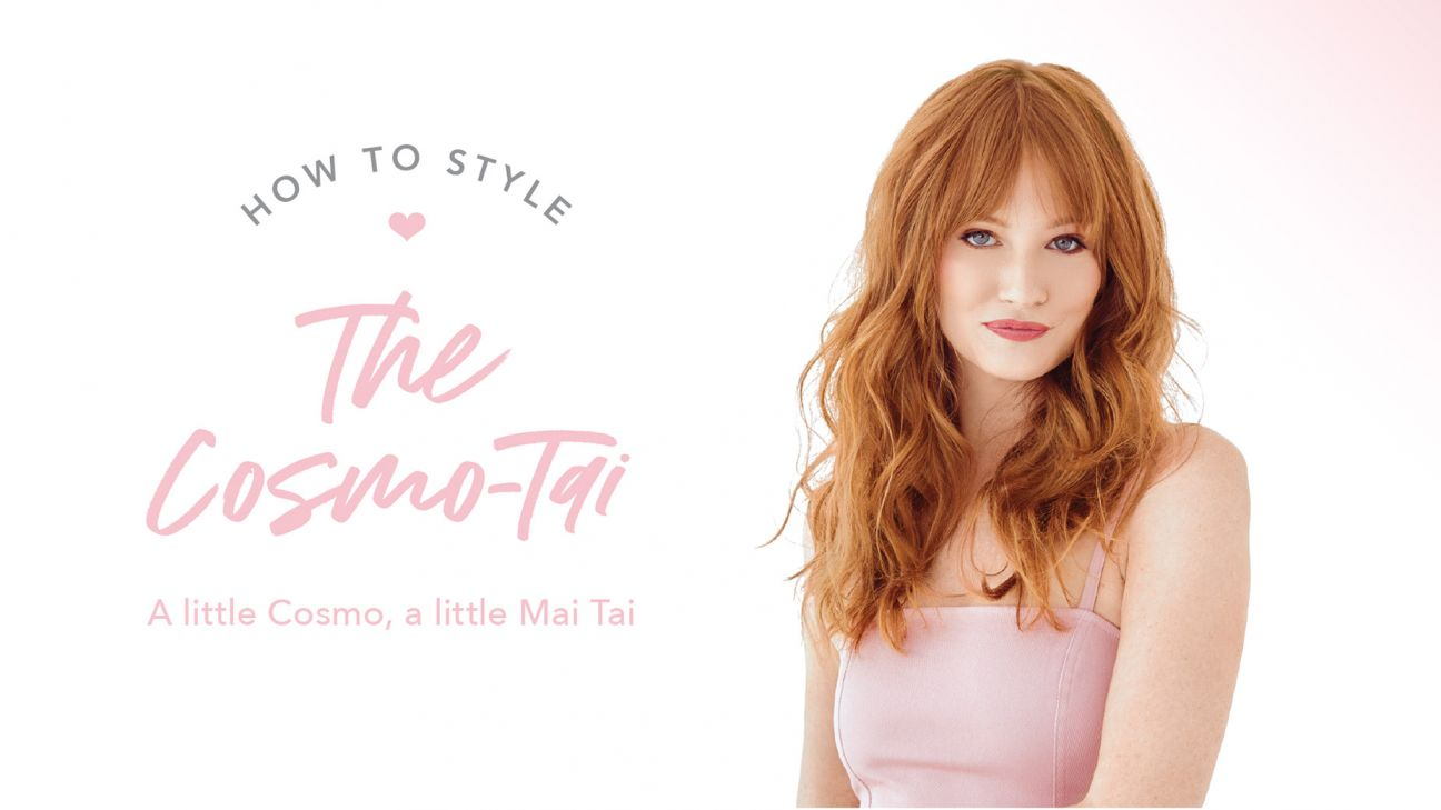 Drybar Signature Styles From Home: The Cosmo -Tai