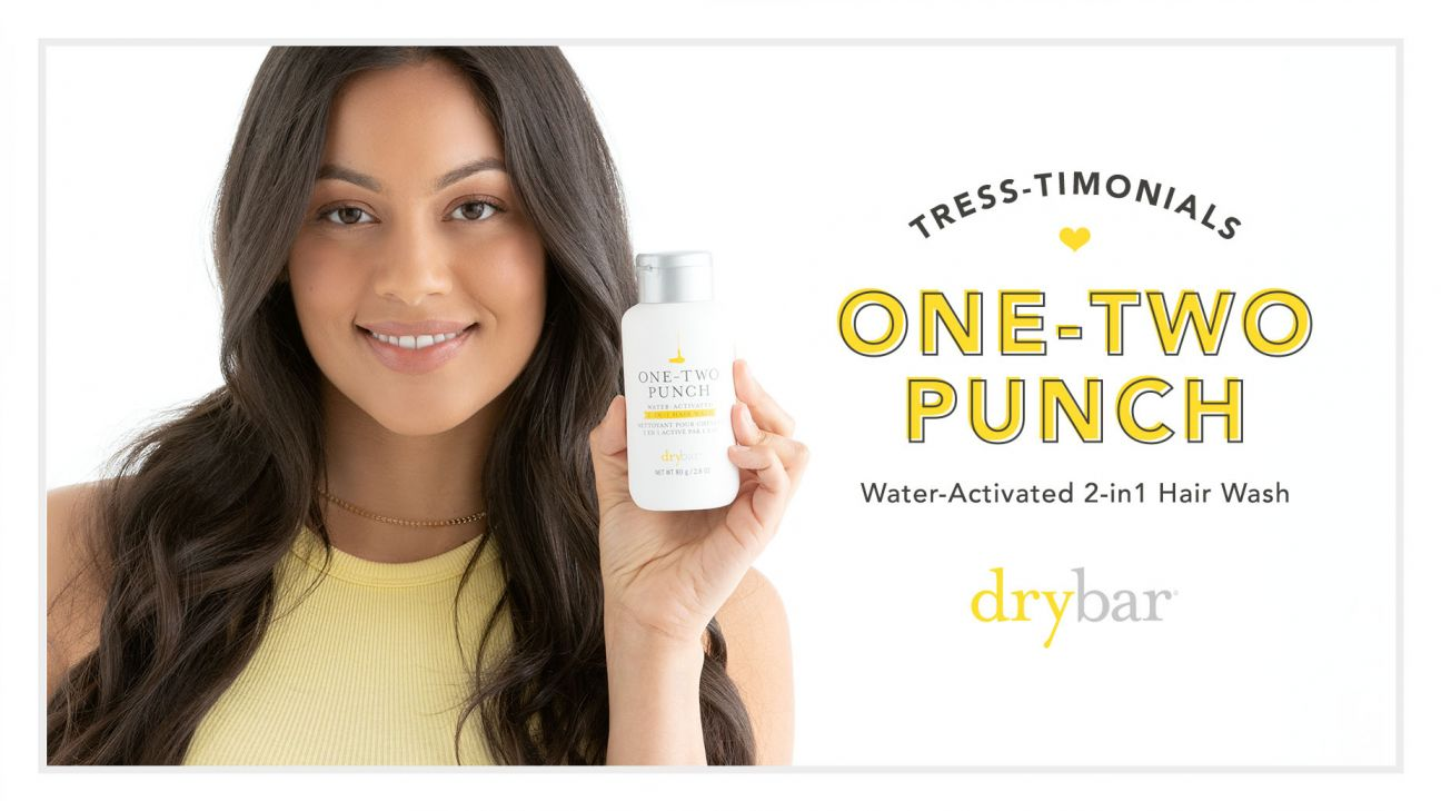 Tress-Timonials: One-Two Punch Water-Activated 2-In-1 Hair Wash