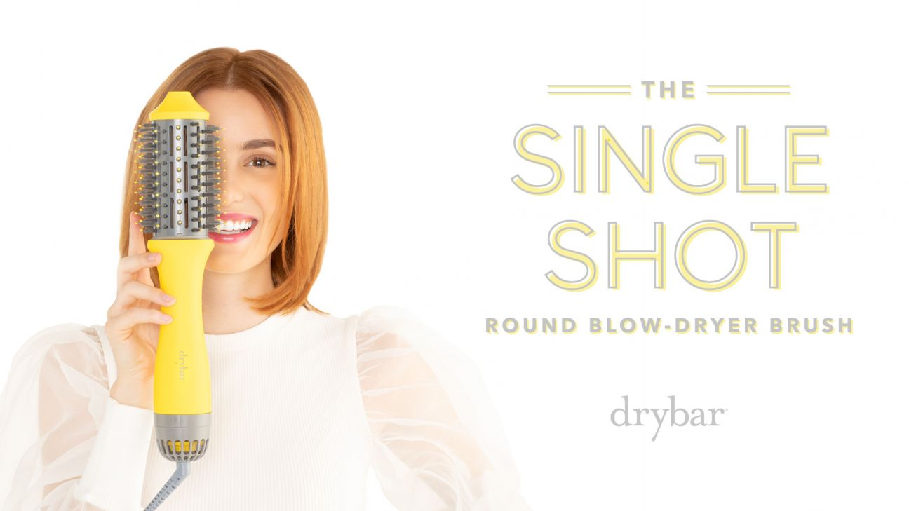 The Single Shot Round Blow-Dryer Brush