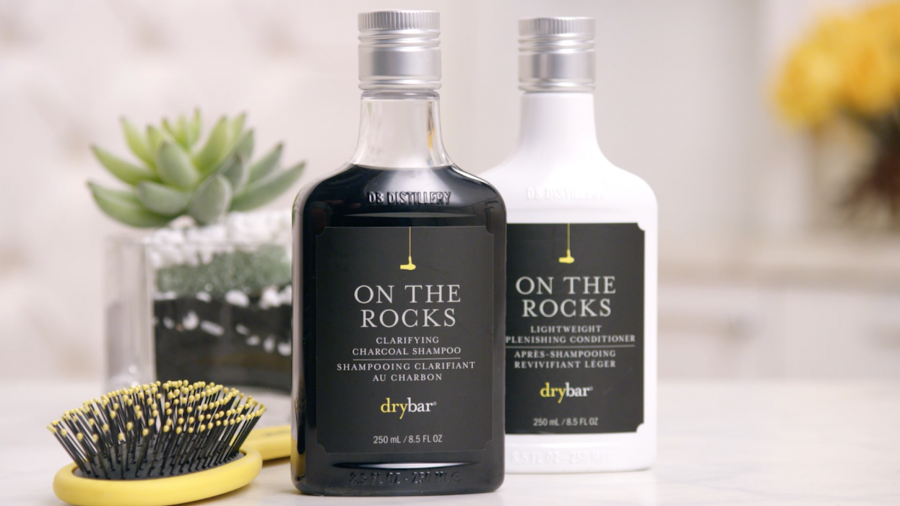 On the Rocks Charcoal Shampoo & Conditioner