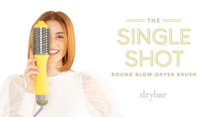 The Single Shot Round Blow-Dryer Brush