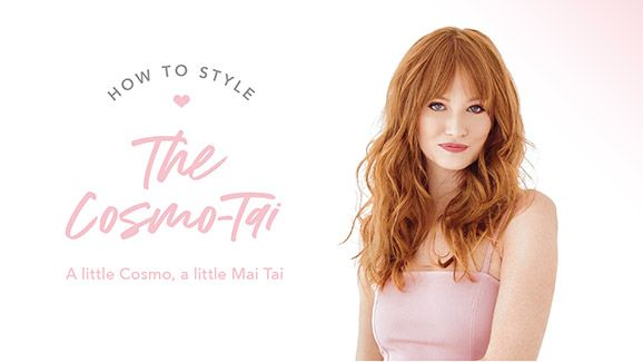 Drybar Signature Styles From Home: The Cosmo -Tai How-To Video