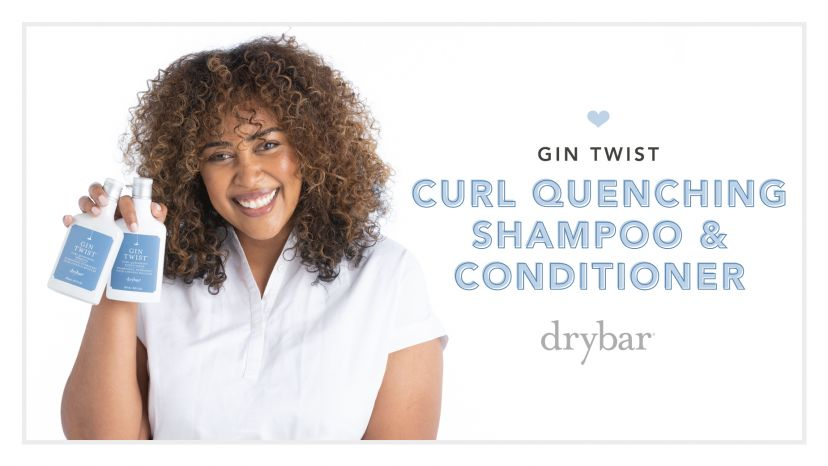 Gin Twist Curl Quenching Shampoo & Conditioner Video