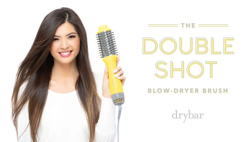 Double Shot Oval Blow-Dryer Brush