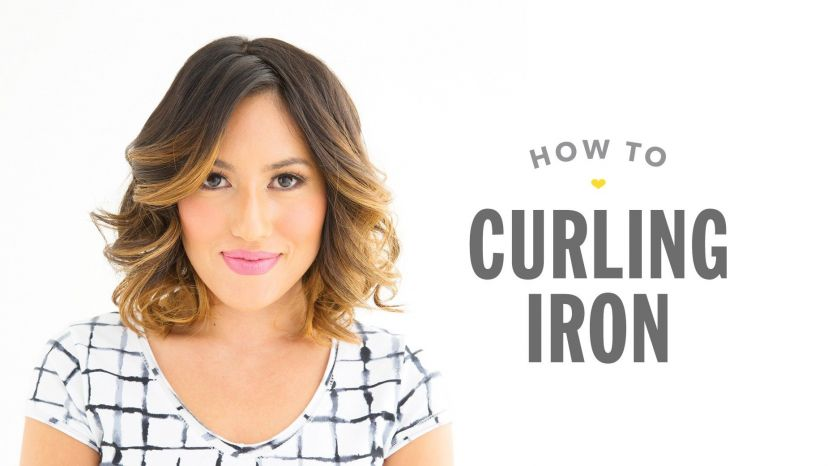 How to Use a Curling Iron video