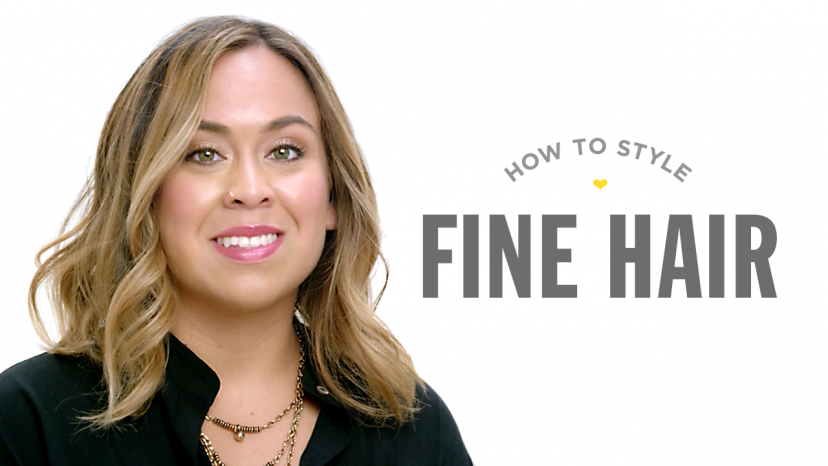 How to Style Fine Hair