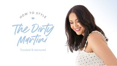Drybar Signature Styles From Home: The Dirty Martini