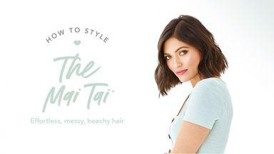 Drybar Signature Styles From Home: The Mai Tai