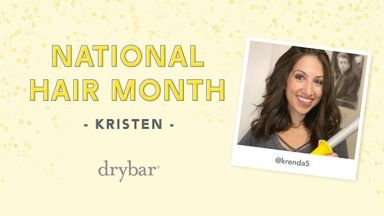 National Hair Month Video: Beachy Waves on Shorter Hair