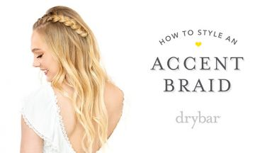 Special Occasion Hairstyle: Accent Braid