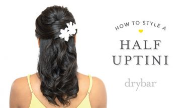 Special Occasion Hairstyle: Half Uptini