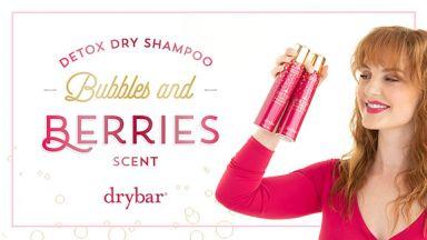 Detox Dry Shampoo Bubbles & Berries Scent