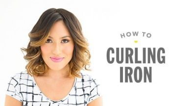 How To Use a Curling Iron