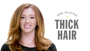 Blowout Tips For Thick Hair