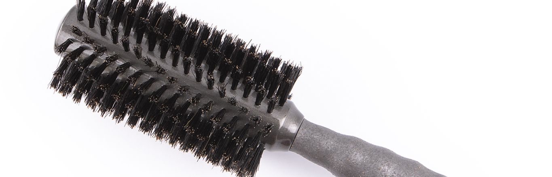 The Drybar Full Keg Boar Bristle Round Brush