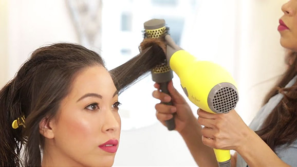 Buttercup Blow-Dryer Video