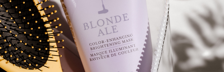 Blonde Ale Color-Enhancing Brightening Mask